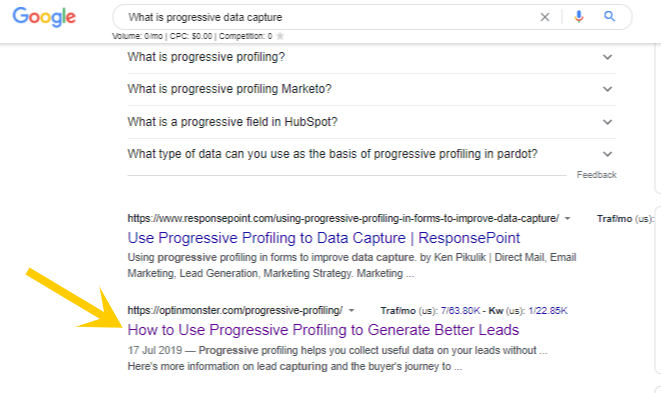 What is progressive data capture - Google Search